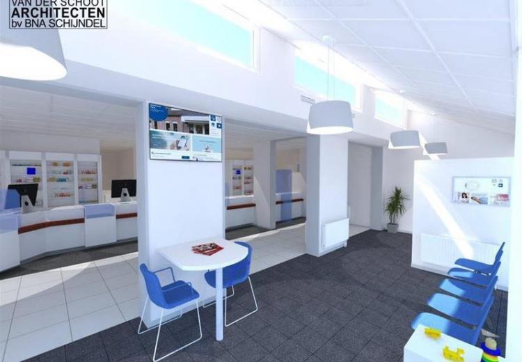 Van der Schoot Architecten 3D Impressie praktijkontwerp